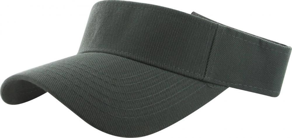 Dark Grey_(US Seller)Outdoor Sport Hat Sun Cap Adjustable Velcro