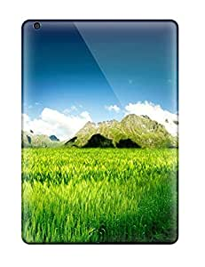 Awesome Design Fresh Nature Landscape Hard Case Cover For Ipad Air