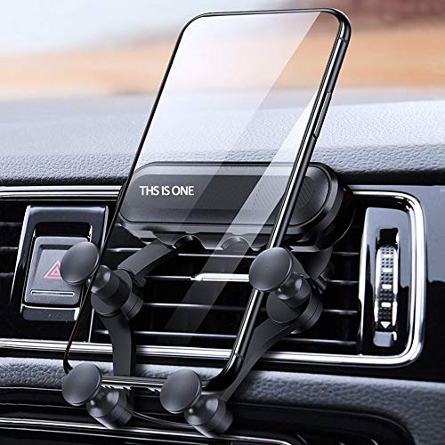 Car Phone Mounts,Air Vent Phone Holder for Car,Car Gravity Phone Holder,Universal Smartphone Car Air Vent Mount Holder for All Kinds of Smartphones from 4.7 to 6.7 inches