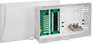 "ICC 9"" Wiring Enclosure Combo with Voice/Data/Video"