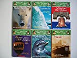 img - for Magic Tree House Research Guides (6 Set) Polar Bears; Tsunamis; American Revolution; Ancient Greece & Olympics; Dolphins & Sharks; Titanic book / textbook / text book