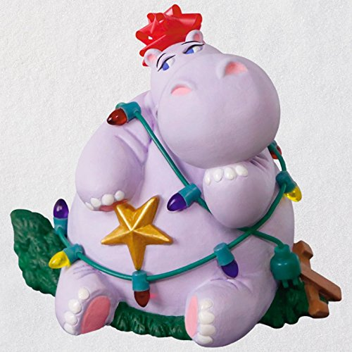 Hallmark Keepsake Christmas Ornament 2018 Year Dated, I Want a Hippopotamus for Christmas With Music