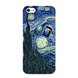 Doctor Who Tardis Van Gogh Starry Night Hard Plastic Phone Case Cover Shell For iPhone 5 , iPhone 5s & iPhone SE