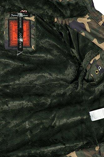 10 Xs xxl Da Donna Marikoo Trapuntata Amber Colori Camuffamento Giacca Invernale qY4RnxSU