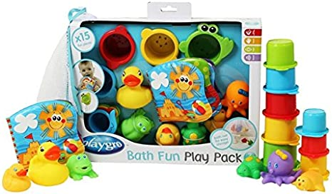 Playgro Badspeeltjes Bath Fun Play Pack Badspeelgoed Fun