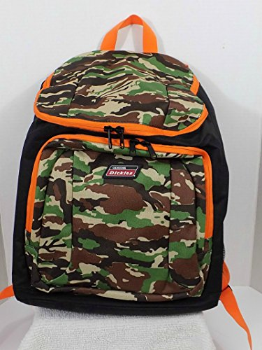 Dickies Top Loader Camoflauge Backpack