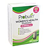 Probulin Women's Health is a targeted once daily Probiotic + Prebiotic for women with the following features and benefits: 20 Billion cfu† per capsule 12 probiotic strains Prebiotic Inulin - food for the probiotic's survival Shelf stable Supports dig...