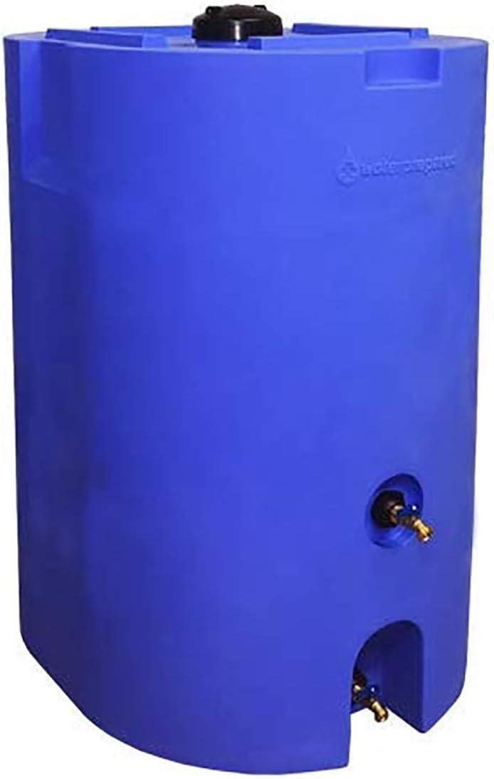 WaterPrepared 160-320 Gallon Capacity Emergency Water Storage Tanks BPA Free, Portable, Food Grade Plastic (160 Gallon (1 Tank))