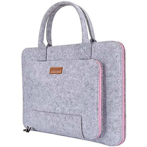 Ropch 15.6' Felt Laptop Sleeve with Handle Portable Notebook Computer...