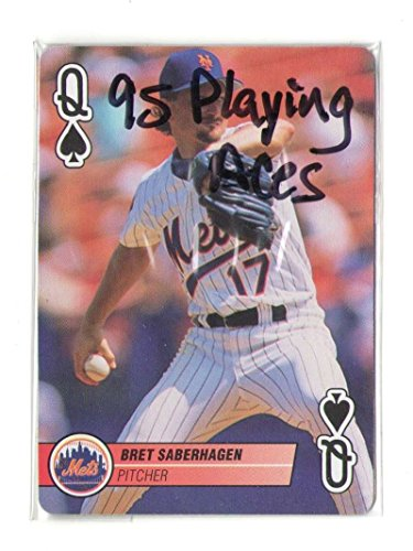 1995 Playing Cards Aces - NEW YORK METS 2 (New York Mets Playing Card)