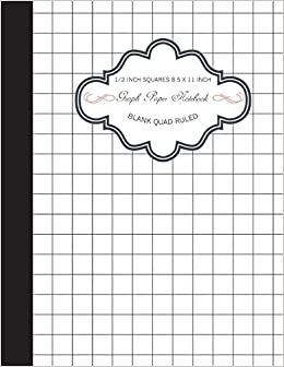 amazon graph paper notebook grid paper composition book 1 2