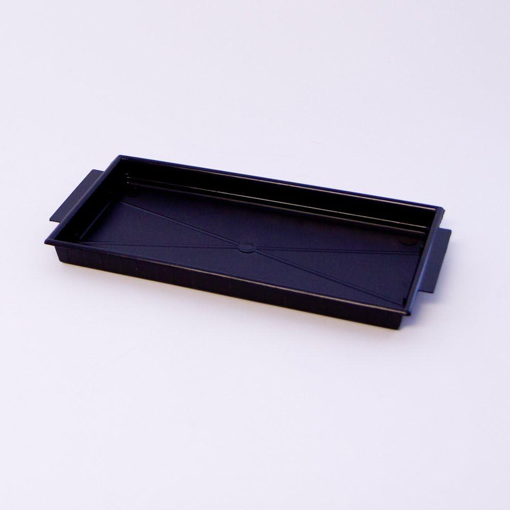 Oasis Single Black Brick Tray For Floral Arrangements