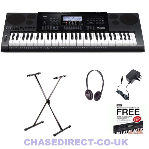 casio digital keyboard ctk 7200 set free x stand headphones power ad. Black Bedroom Furniture Sets. Home Design Ideas