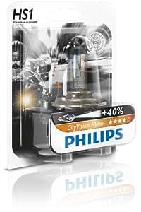 Philips 12636CTVBW City Vision - Bombilla HS1 para faros delanteros de moto