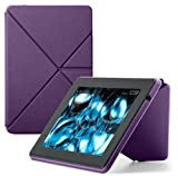 kindle fire hd standing case - Amazon Kindle Fire HD Standing Polyurethane Origami Case (will only fit 3rd generation), Purple