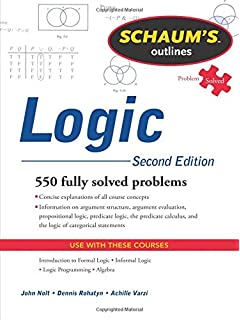 Amazon introduction to logic 9780130337351 irving m copi schaums outline of logic second edition schaums outlines fandeluxe Gallery
