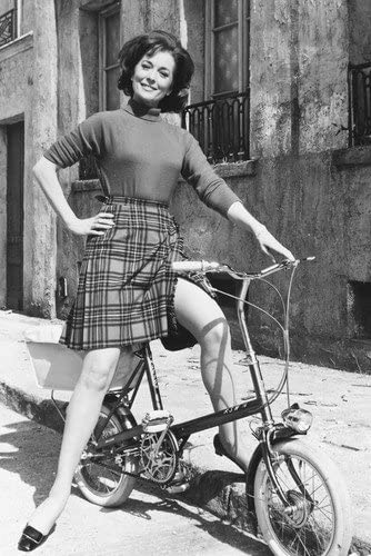 Barbara Shelley on Bike Quatermass 24x36 Poster at Amazon's Entertainment  Collectibles Store