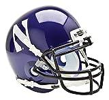 Schutt Sports NCAA Nortwestern Wildcats Mini Authentic Football Helmet, Classic