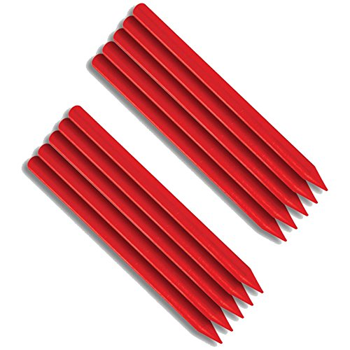 FastCap FATBOYREDREFILL Woodworking Fatboy Refill with 10 Red Crayons Refills