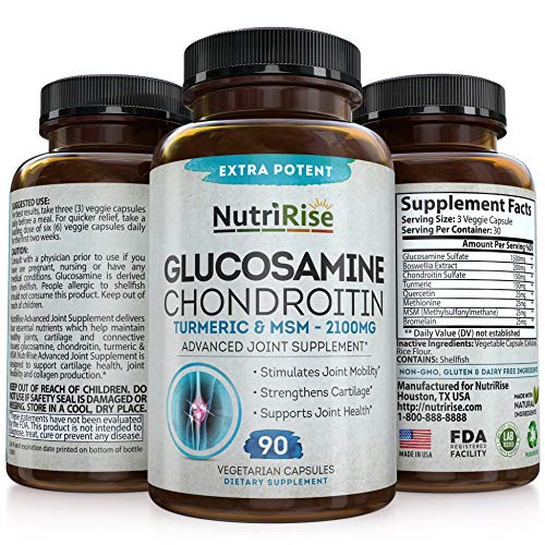 Glucosamine Chondroitin MSM Turmeric