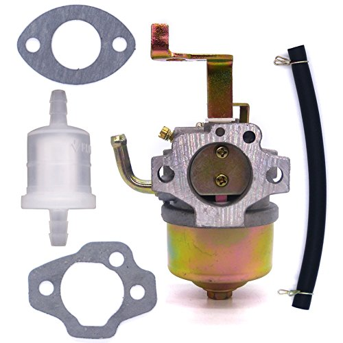 FitBest Carburetor with Fuel Line Filter for Robin EY20 EY15 DET180 Wisconsin WI-185 Generator Carb (Wisconsin Ey20 Carburetor)