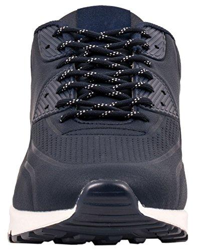 Elara Hochwertige Sneaker   Bequeme Herren Low Top Sportschuhe   Moderne Laufschuhe Turnschuhe   chunkyrayan Navy State