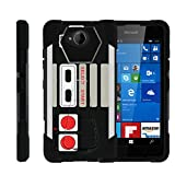 MINITURTLE Case Compatible w/ Lumia 650 Case | SHOCK Impact Hard Rubber Durable Unique Creative Cover, Microsoft Lumia 650 Game Controller Review