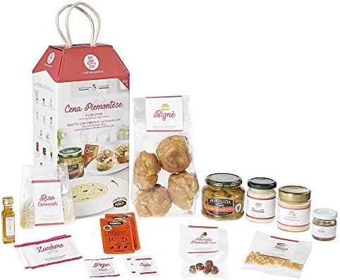 Cena Piemontese My Cooking Box con Bignè e Risotto al Castelmagno per 2 Porzioni – in collaborazione con Ponti
