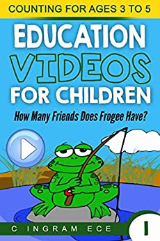 Math Game for Preschool How Many Friends Does Frogee Have by [Ingrah ECE, C]