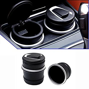 9 MOONu0026reg; Car Ashtray With Special Storage Box Fit BMW 1 3 5 7 Series