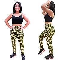 Conjunto Fitness Calça Legging Alto Relevo e Top Fitness em Suplex - DB111