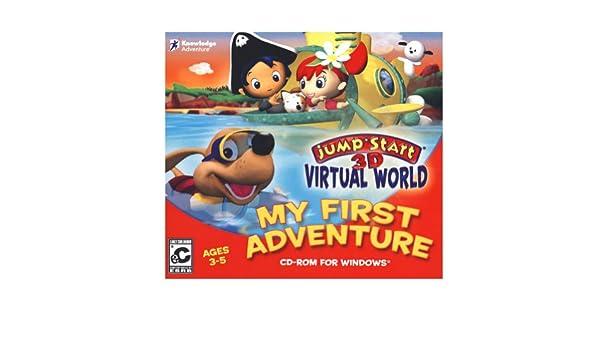 Knowledge adventure jumpstart 3d virtual world my first adventure knowledge adventure jumpstart 3d virtual world my first adventure old version amazon software freerunsca Images