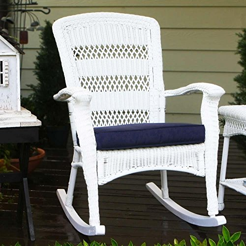 Plantation White Outdoor Chair - 3