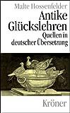 Antike Glückslehren: Stoa - Epikureismus - Skeptizismus