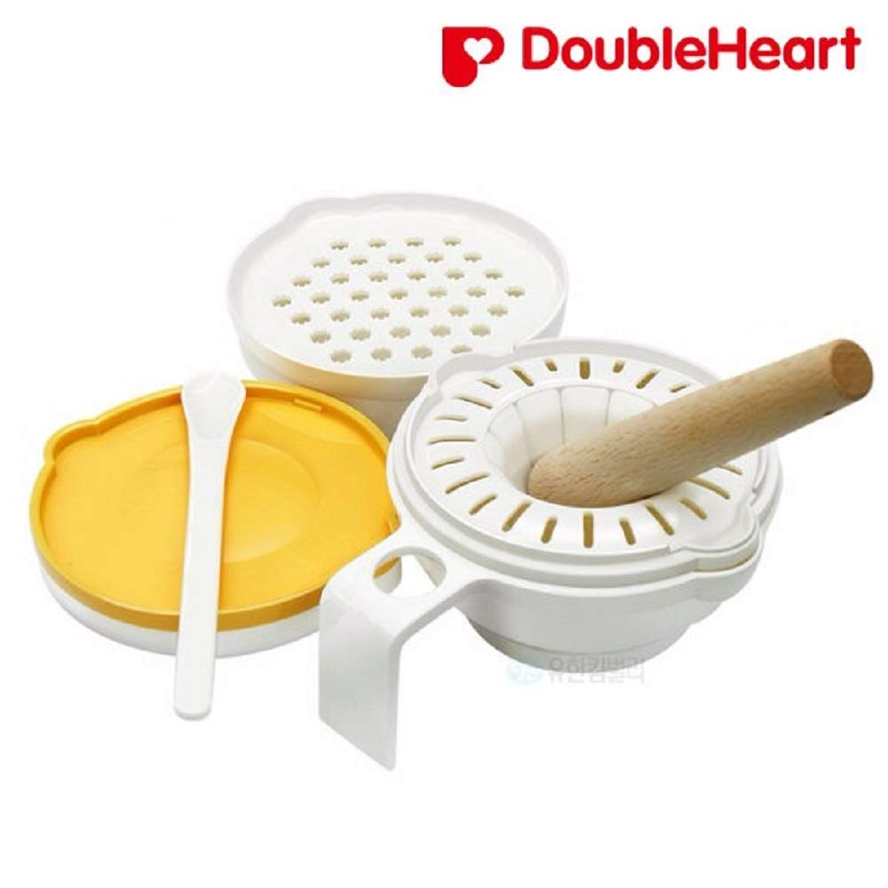 DoubleHeart Baby Food Mills, Baby Food Cooker, Hot Water Disinfect Available