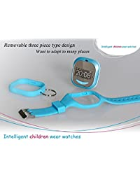 EastVita The latest version of children positioning watch mobile phone UPro p5 Children's guard watches blue