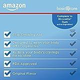 Amazon Basic Care Nicotine Polacrilex Uncoated Gum