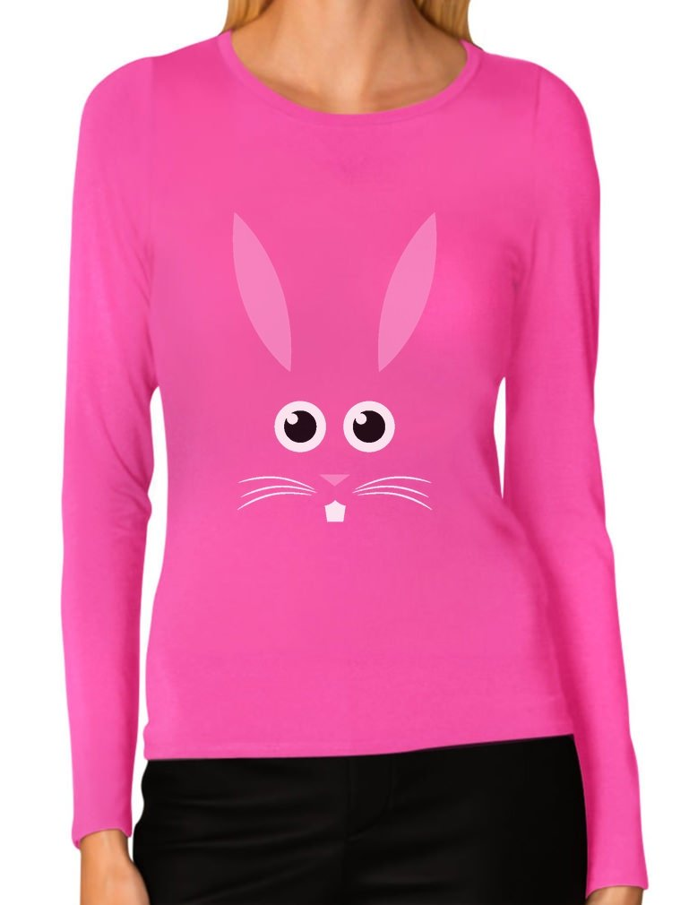 Funny Easter Bunny Face Best Gift For Easter T Shirt 8716