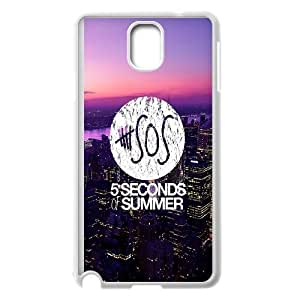 [H-DIY CASE] For Samsung Galaxy NOTE4 -5SOS Rock Music Band-CASE-4