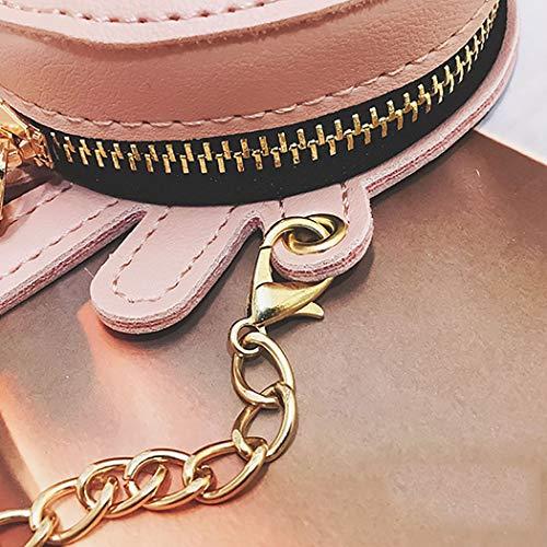 Taille De Coafit Mini Porte À Belle Bandoulière Creative monnaie Crabe Pink Motif Sac wnSzrYqw
