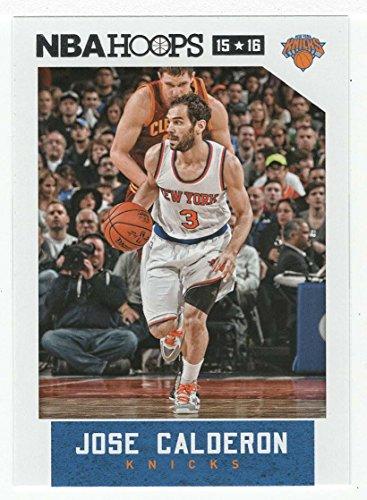 Jose Calderon (Basketball Card) 2015-16 Panini NBA Hoops # 243 Mint