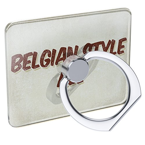 Cell Phone Ring Holder Belgian Style Ale Beer, Vintage style Collapsible Grip & Stand Neonblond Belgian Style Ale