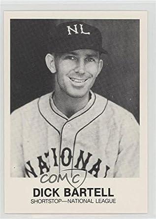 Amazoncom Dick Bartell Baseball Card 1977 84 Tcma Renata