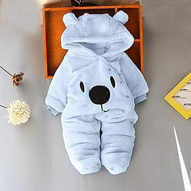 2f35d48cf Clearance 0-12 Months Baby Girl Boy Hooded Cartoon Bear Romper ...