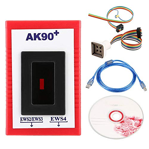 Aramox Auto Key Programmer Tool AK90+ V3.19 Match Diagnostic Tool for EWS AK90 KEY-PROG