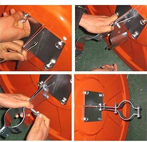 Geng カーブミラー 凸面鏡、75cmの多機能クリアアウトドア220°の広角レンズ凸アンブレイカブル交通安全ミラーミラー