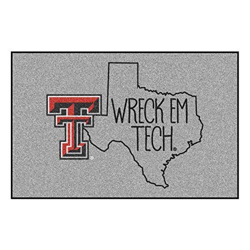 (Fanmats NCAA Texas Tech Red Raiders Starter Mat, 19