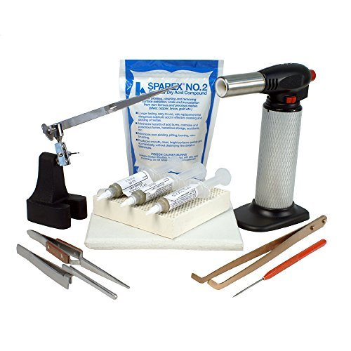 - Jewelry Soldering Kit with Soldering Paste and Butane Torch - SFC Tools - Kit-1780