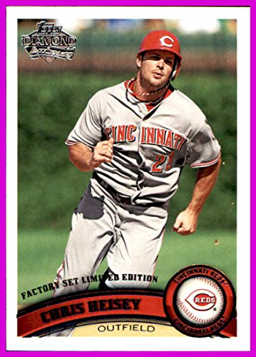 2011 Topps Diamond Anniversary Factory Set Limited Edition #336 Chris Heisey CINCINNATI REDS