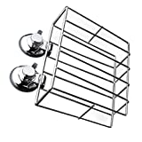 Baoblaze Metal Wall Mounted Magazine Rack Storage Bar Cafe Menu Shelf 23x8x18cm